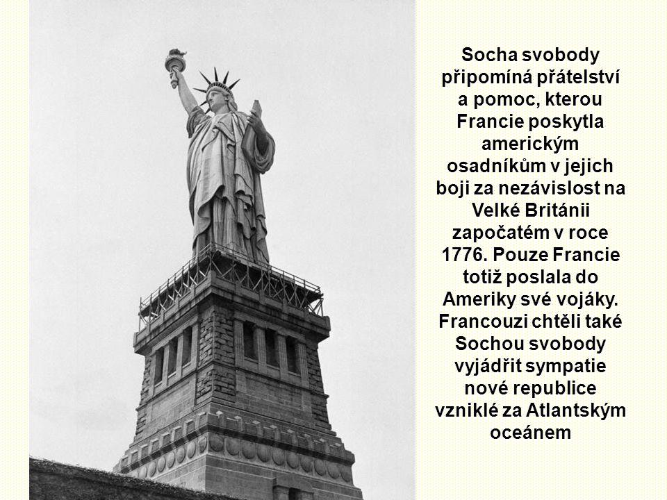 I v Evropě máme ale Sochu svobody Pařížská socha Svobody na ostrově Cygnes je zmenšenou kopií Sochy svobody v New Yorku.