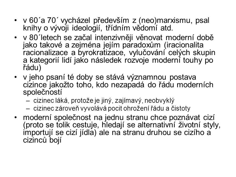 1987: Legislators and interpreters - On Modernity, Post- Modernity, Intellectuals.