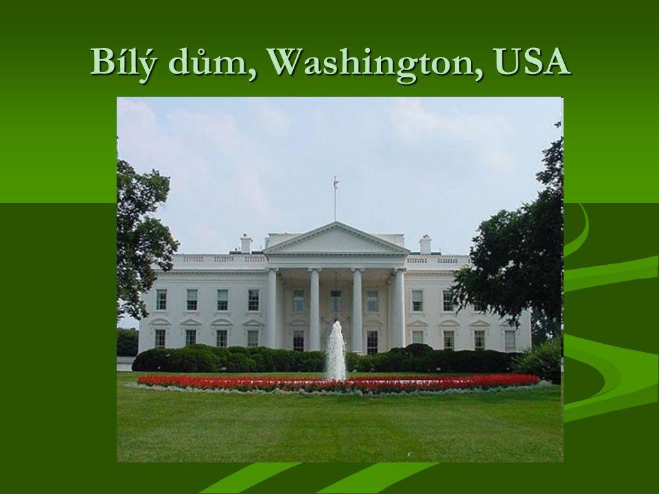 Bílý dům, Washington, USA