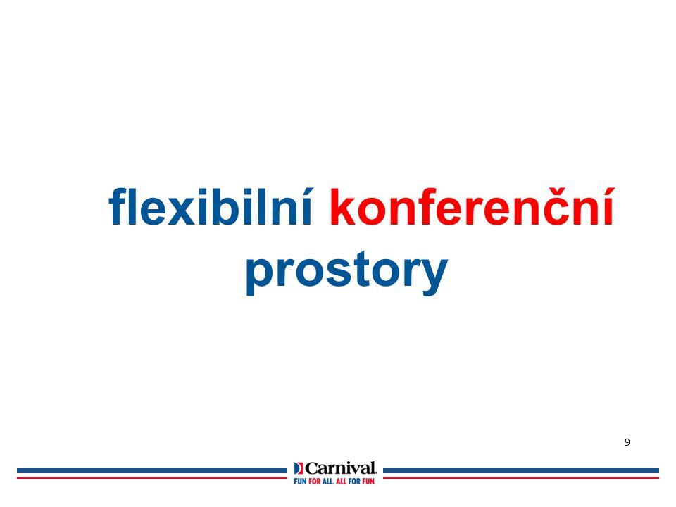 flexibilní konferenční prostory 9