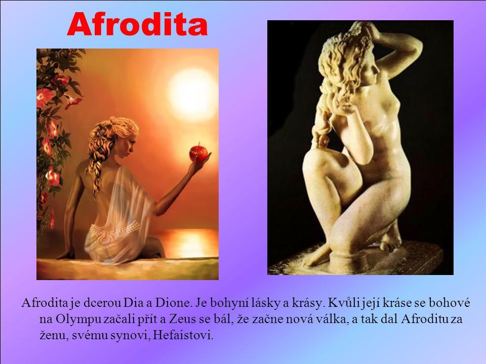 Apollón Apollo je synem Dia a Léto.Zárověň je dvojčetem Artemis. Je bohem světla, básníků, hudby a lukostřelců. Občas je považovám za boha slunce, věš