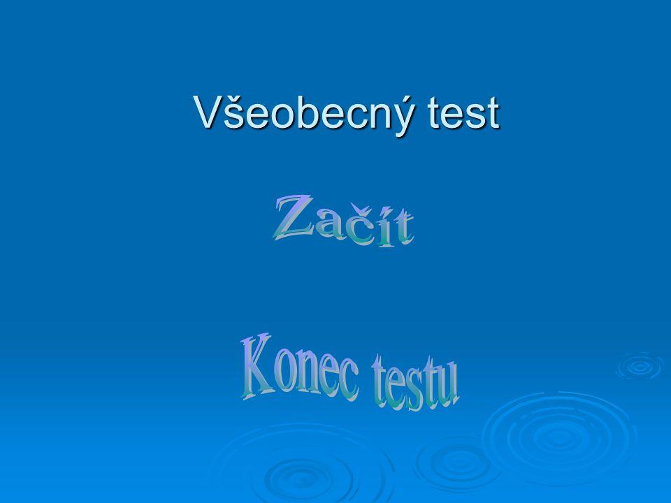 Všeobecný test