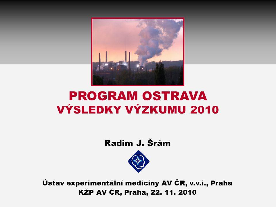 PROGRAM OSTRAVA VÝSLEDKY VÝZKUMU 2010 Radim J.