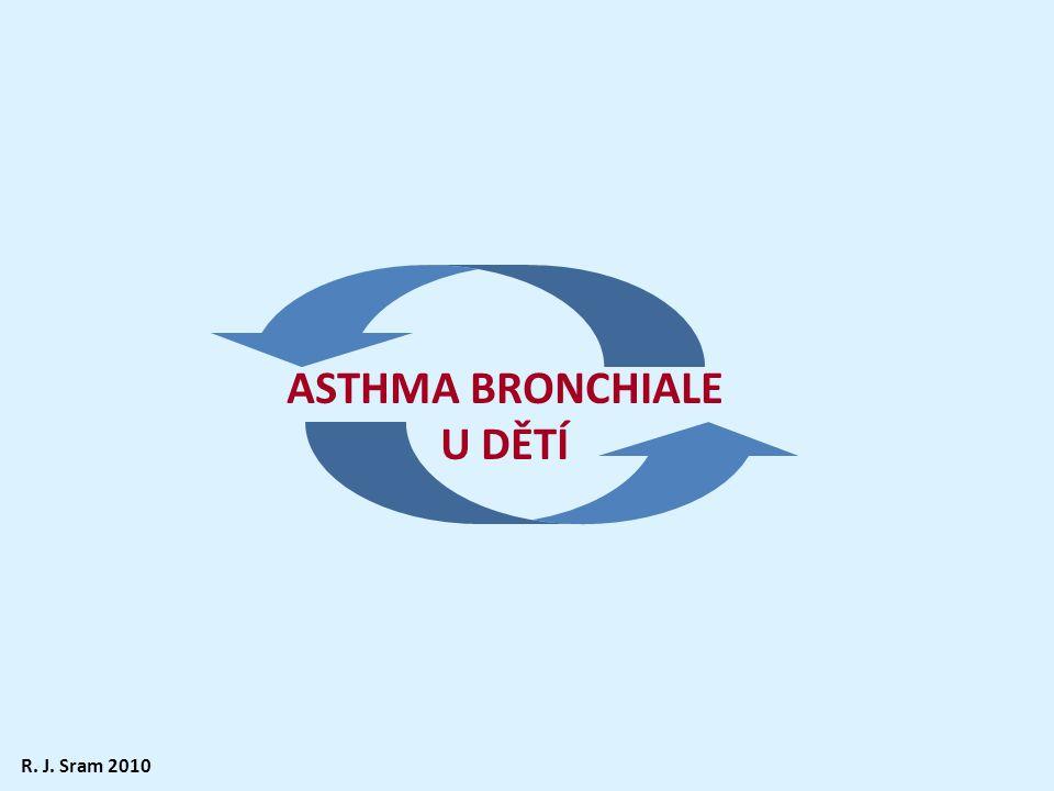 ASTHMA BRONCHIALE U DĚTÍ R. J. Sram 2010