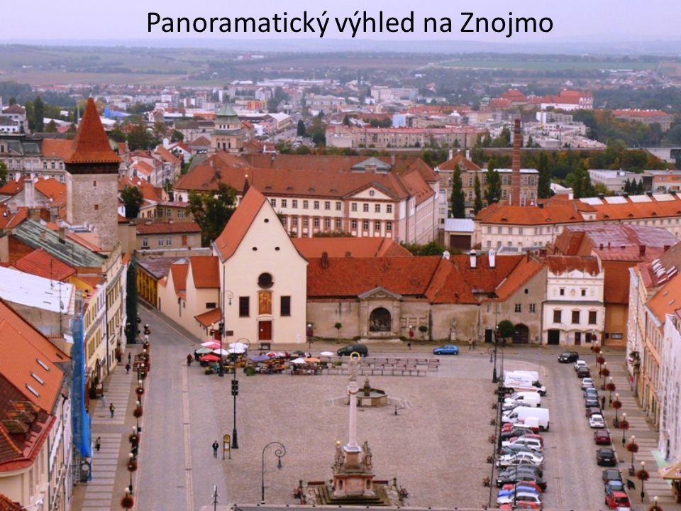 Panoramatický výhled na Znojmo