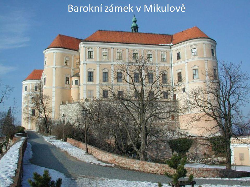 Barokní zámek v Mikulově obr. 12