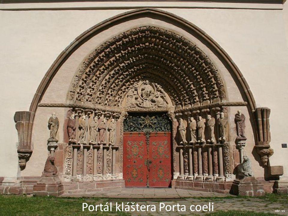 Portál kláštera Porta coeli obr. 15