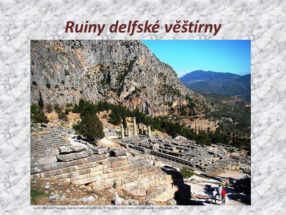 Ruiny delfské věštírny Autor.