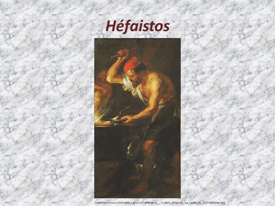 Héfaistos http://commons.wikimedia.org/wiki/File:Rubens_-_Vulcano_forjando_los_rayos_de_J%C3%BApiter.jpg