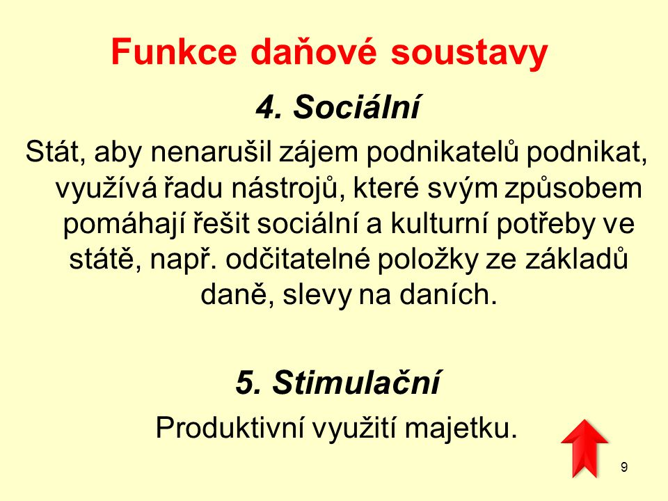 Právní úprava daní A)Zákon č.212/1992 Sb., ze dne 15.