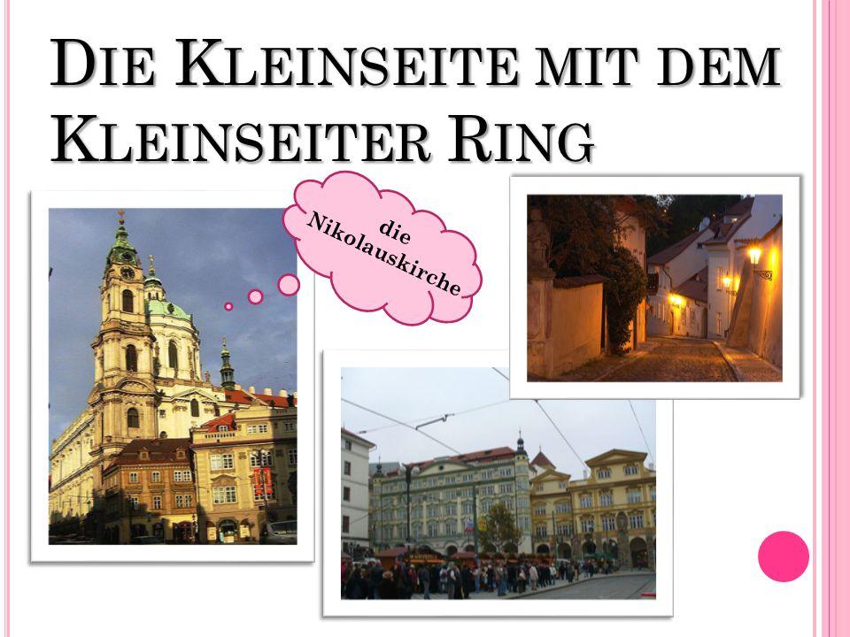 D IE K LEINSEITE MIT DEM K LEINSEITER R ING die Nikolauskirche