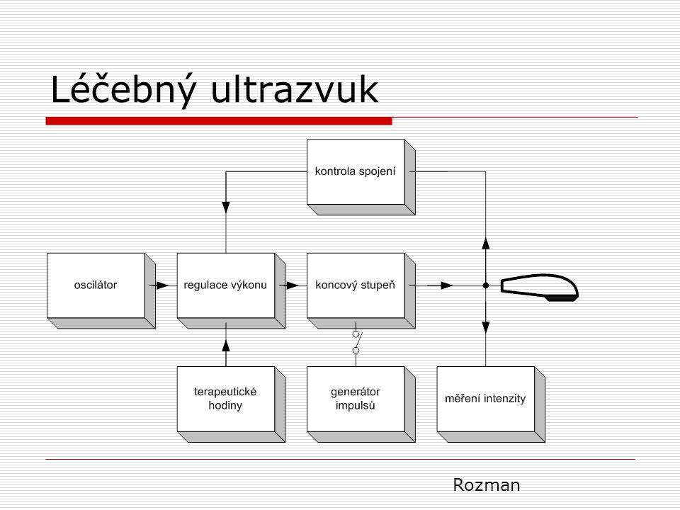 Léčebný ultrazvuk Rozman