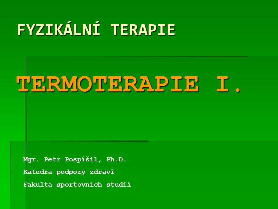  Hypotermie  Pokles teploty těl.jádra < 35°C  Těžká hypotermie  Pokles teploty těl.