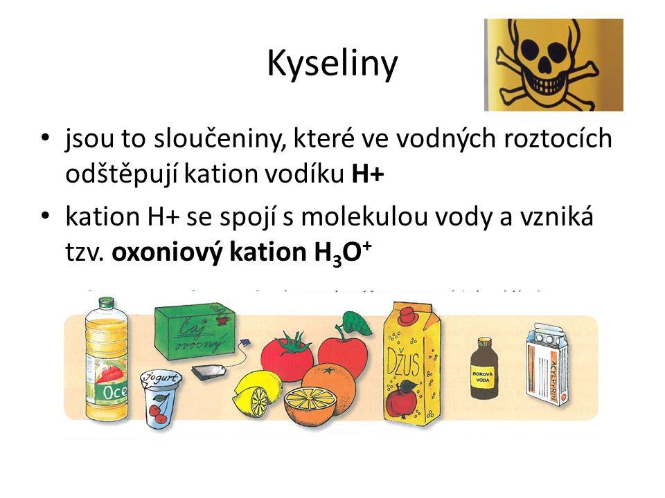 Co jsou to kyseliny.Představ si, že si kousneš do citronu.