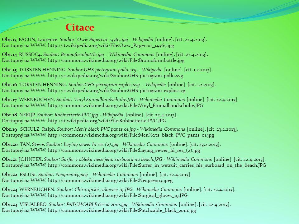 Citace Obr.15 TORSTEN HENNING.Soubor:GHS-pictogram-pollu.svg - Wikipedie [online].