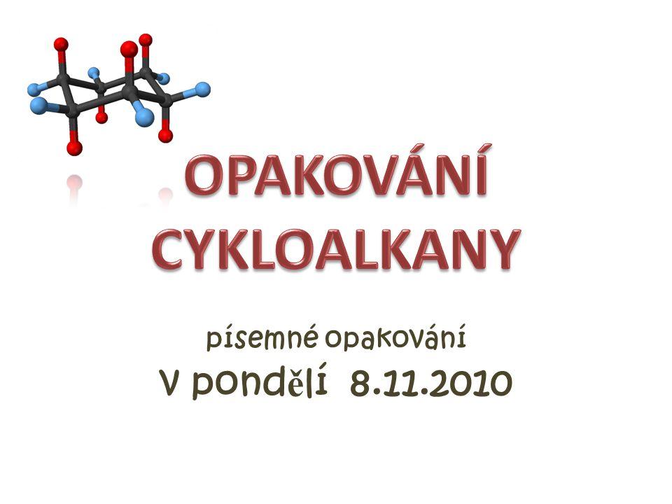 písemné opakování v pond ě lí 8.11.2010
