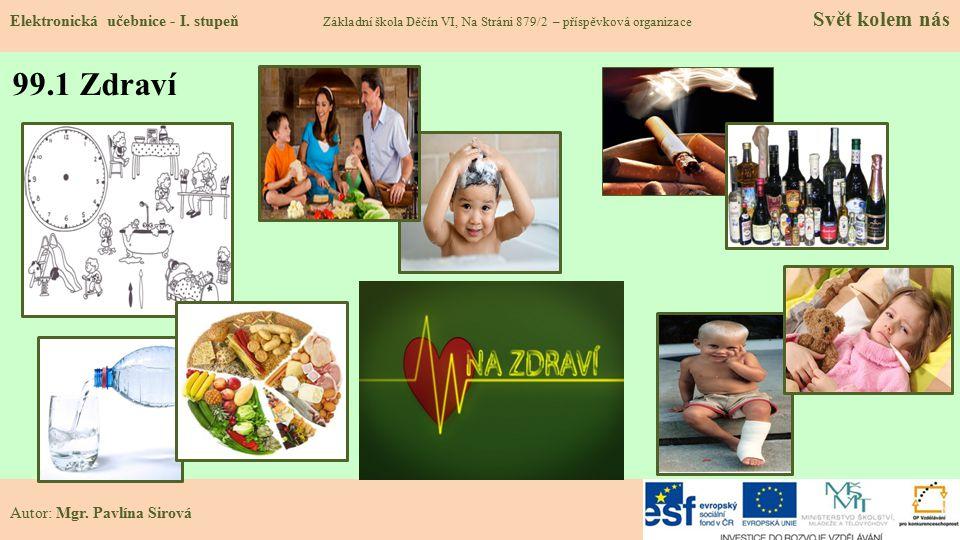 99.1 Zdraví Elektronická učebnice - I.