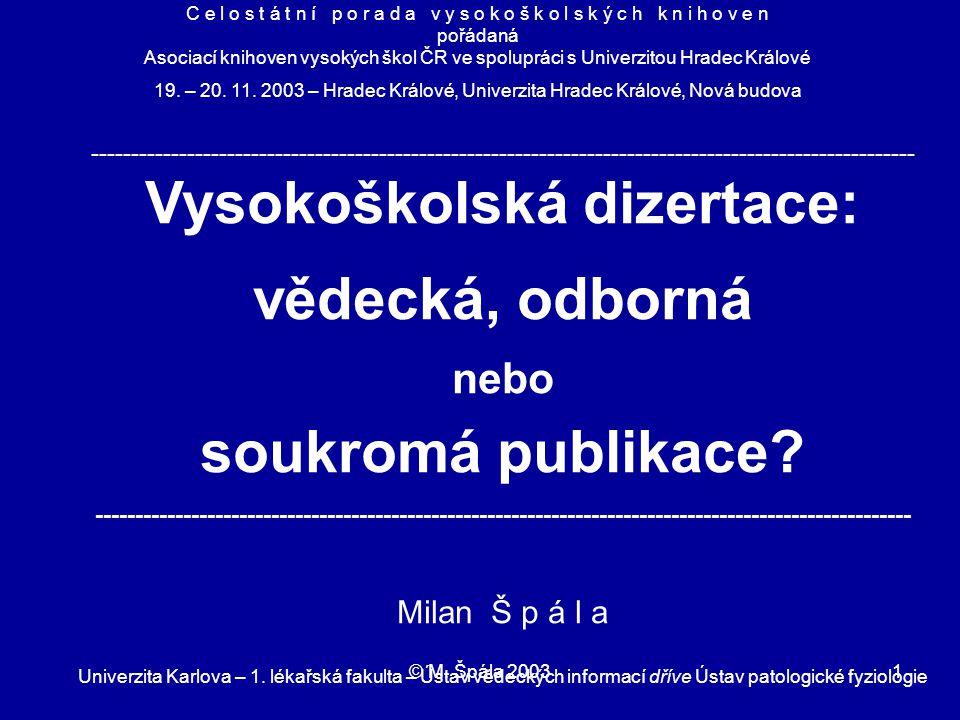 © M.Špála 200312 Commission of the European Communities Brussels, 05.
