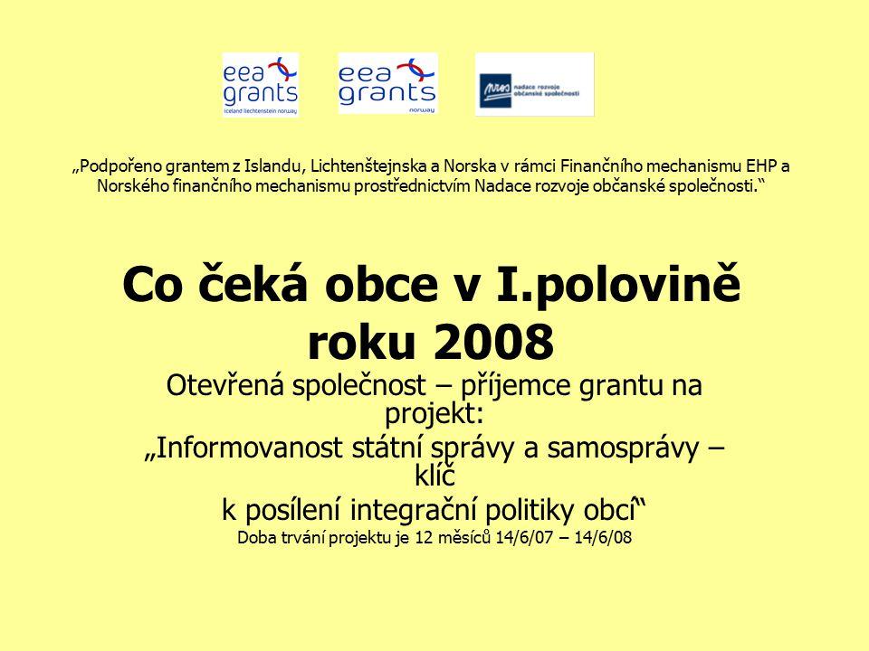 Celkový stručný popis projektu Cílem projektu je přispět ke zlepšení situace v oblasti lidských práv a boje proti diskriminaci a rasismu, prostřednictvím pozitivního působení na kvalitu rozhodování veřejné správy v oblasti integrace romské minority do české společnosti.