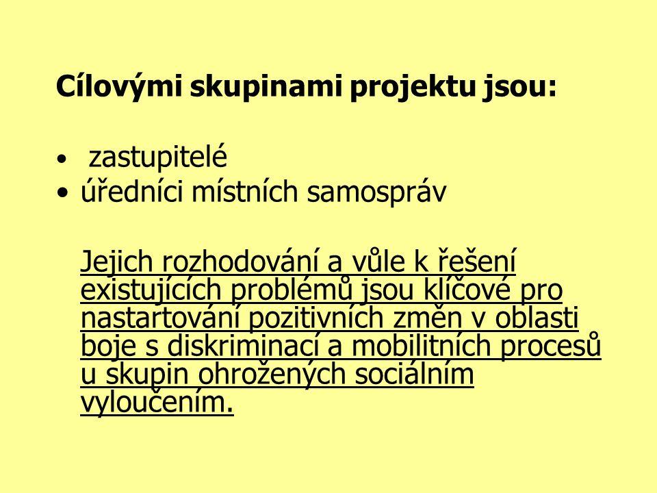 V rámci projektu bude realizován sociologický reprezentativní výzkum.
