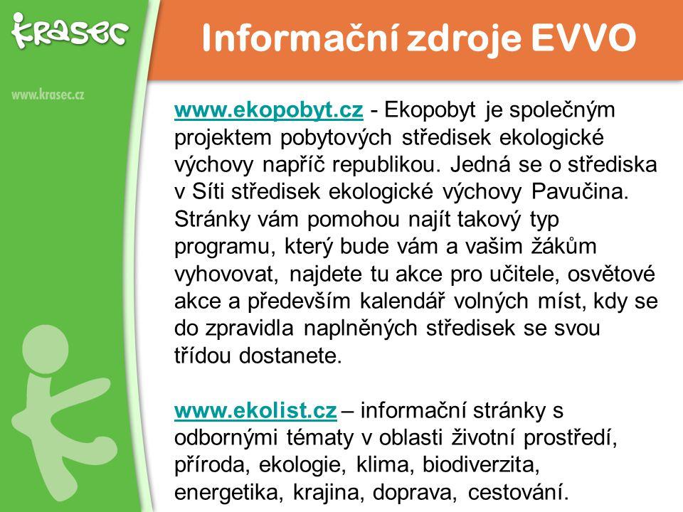 www.ekopobyt.czwww.ekopobyt.cz - Ekopobyt je společným projektem pobytových středisek ekologické výchovy napříč republikou.