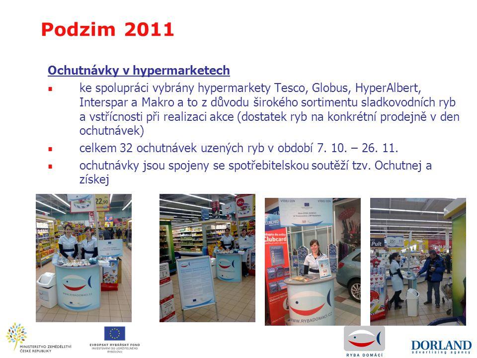 Ochutnávky v hypermarketech ■ ke spolupráci vybrány hypermarkety Tesco, Globus, HyperAlbert, Interspar a Makro a to z důvodu širokého sortimentu sladk