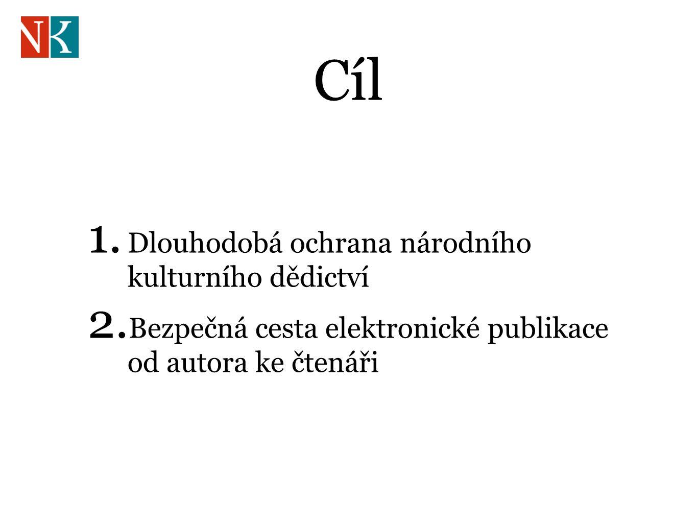 Cíl 1. Dlouhodobá ochrana národního kulturního dědictví 2.
