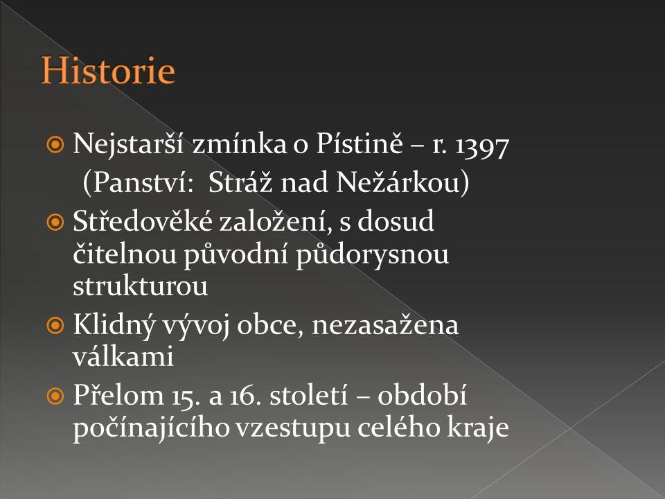  Nejstarší zmínka o Pístině – r.