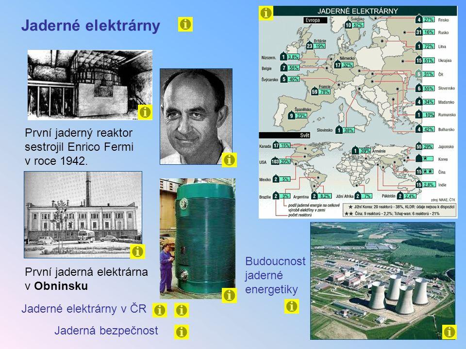 8) Štěpení uranu bylo objeveno Štěpení uranu bylo objeveno 7) První jaderná bomba vybuchla a) v roce 1938 Lise Meitnerová, Otto Hahn a Fritz Strassmann (Berlín) b) v roce 1942 Enrico Fermi (USA) c) v roce 1933 Fréderic a Irene Joliot-Curieovi a) nad Hirošimou 6.8.1945 b) nad pouští v Novém Mexiku 16.7.1945 c) nad Nagasaki 9.8.1945