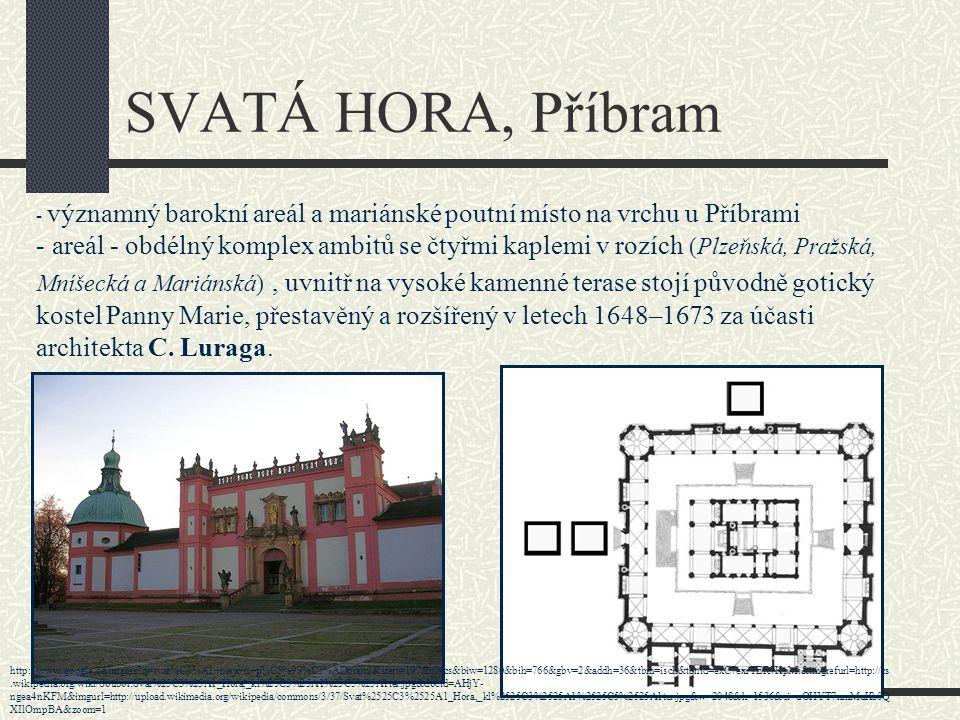 Téma: Svatá Hora u Příbrami - 8.ročník Použitý software: držitel licence - ZŠ J.