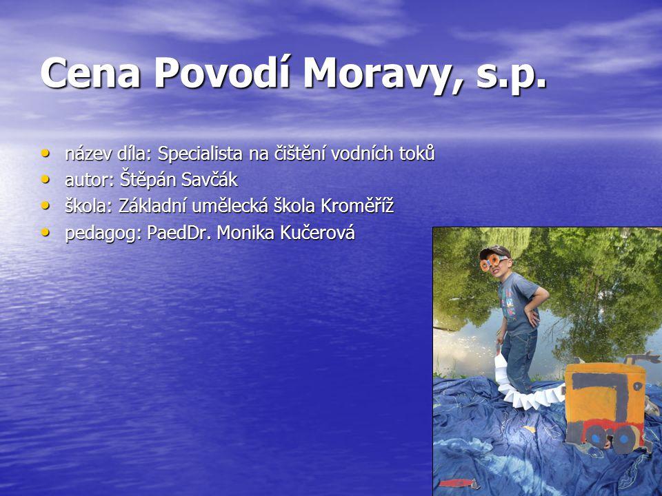 Cena Povodí Moravy, s.p.