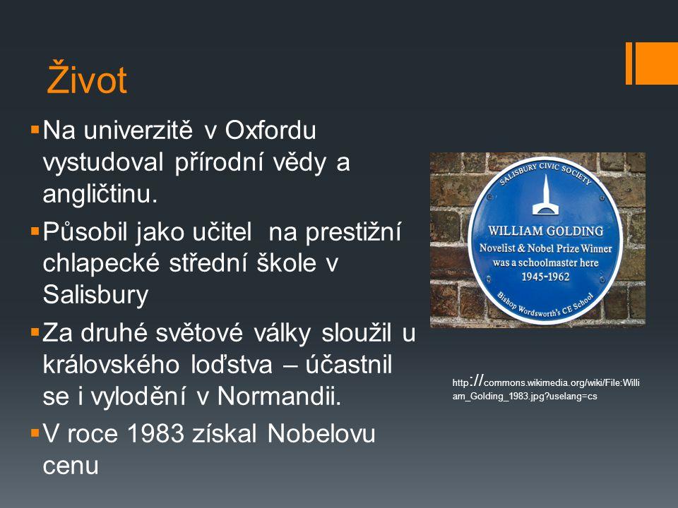 Život  Na univerzitě v Oxfordu vystudoval přírodní vědy a angličtinu.