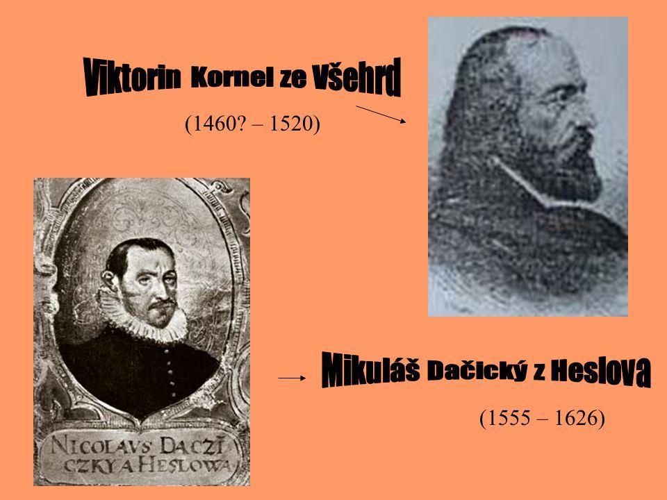- psal ji 6 let - začíná příchodem Čechů (resp.Slovanů) do Čech a končí roku 1527.