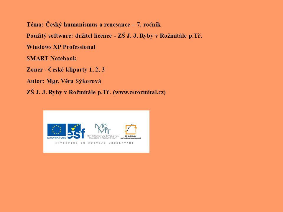 -významný autor, tiskař, nakladatel - oženil se s dcerou Jiřího Melantricha (majitel jednoho z nejvýznamnějších pražských nakladatelství) - po smrti Melantricha tiskárnu převzal Kalendář historický – Vydal: Kalendář historický – seřadil historické události k jednotlivým dnům kalendářního roku Česko-německo-latinsko-řecký slovník (1546 – 1599)