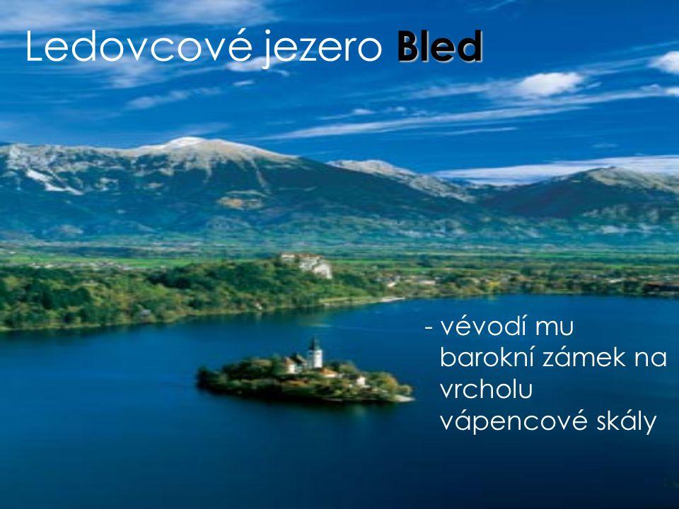 VODSTVO Mura-> Dráva Dráva-> Černé moře Sáva -> Černé moře Krka Soča-> Jaderské moře Ljubljana Maribor Kranj Panonská nížina Terstský záliv