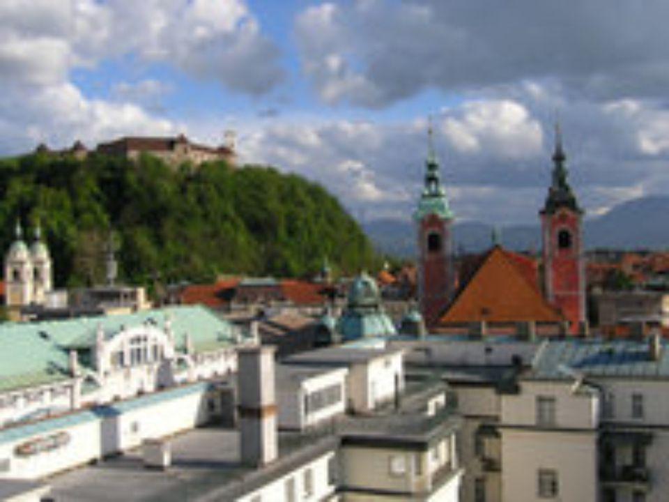 Lublaň (slovinsky Ljubljana, italsky Lubiana, německy Laibach) je hlavní a největší město Slovinska. Zaujímá plochu 275 km² a čítá 265 881 obyvatel (2