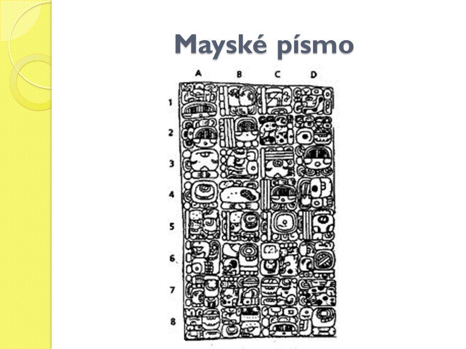 Mayské písmo