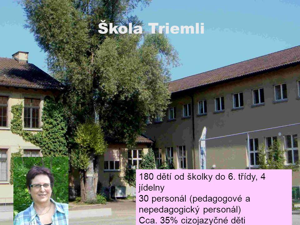 Information für Gäste Škola Triemli 180 dětí od školky do 6.