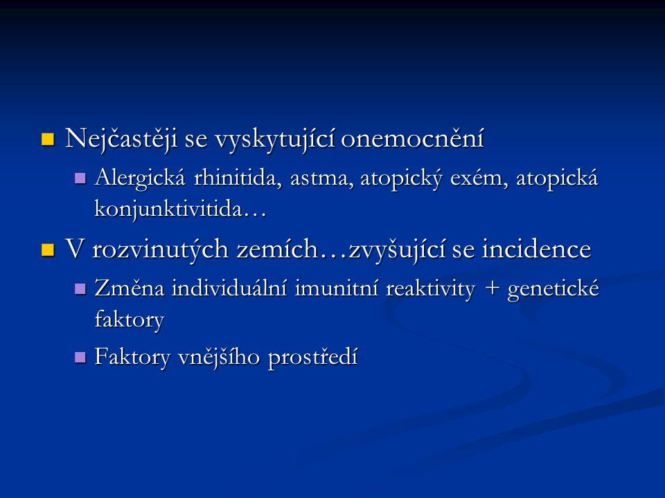 Uplatnění imunokomplexové IPR v autoimunitních onemocněních Uplatnění imunokomplexové IPR v autoimunitních onemocněních Systémový lupus erythrematodes…Ag jádro buňky Systémový lupus erythrematodes…Ag jádro buňky Kryoglobulinémie…IK= normální + patologický Ig Kryoglobulinémie…IK= normální + patologický Ig Revmatoidní artritida…IK= Ab+Fc na vlastních Ig Revmatoidní artritida…IK= Ab+Fc na vlastních Ig Sterilní následky infekčních onemocnění – nejčastěji po infekcích chlamydiemi, salmonelami, shigellami… Sterilní následky infekčních onemocnění – nejčastěji po infekcích chlamydiemi, salmonelami, shigellami… Poststreptokoková glomerulonefritida Poststreptokoková glomerulonefritida Karditida s kloubním revmatismem Karditida s kloubním revmatismem Postinfekční artritida Postinfekční artritida Časově omezené, odezní, autoimunita se zhoršuje Časově omezené, odezní, autoimunita se zhoršuje