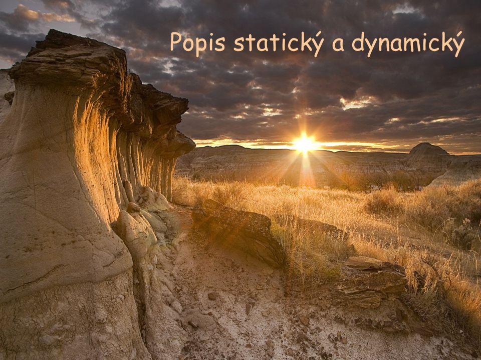 Popis statický a dynamický