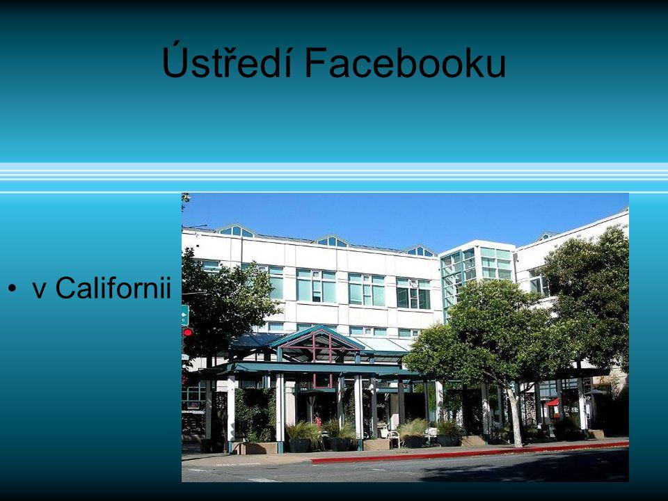 Ústředí Facebooku v Californii