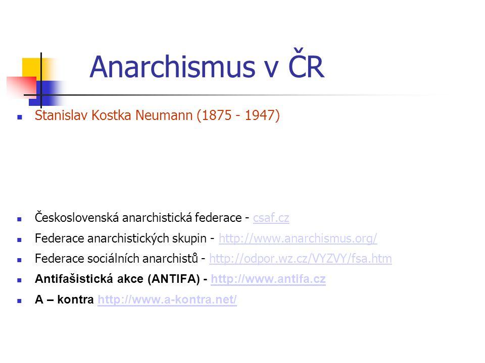 Stanislav Kostka Neumann (1875 - 1947) Československá anarchistická federace - csaf.czcsaf.cz Federace anarchistických skupin - http://www.anarchismus