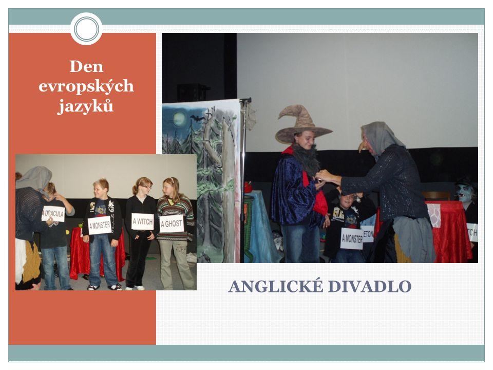 ANGLICKÉ DIVADLO Den evropských jazyků