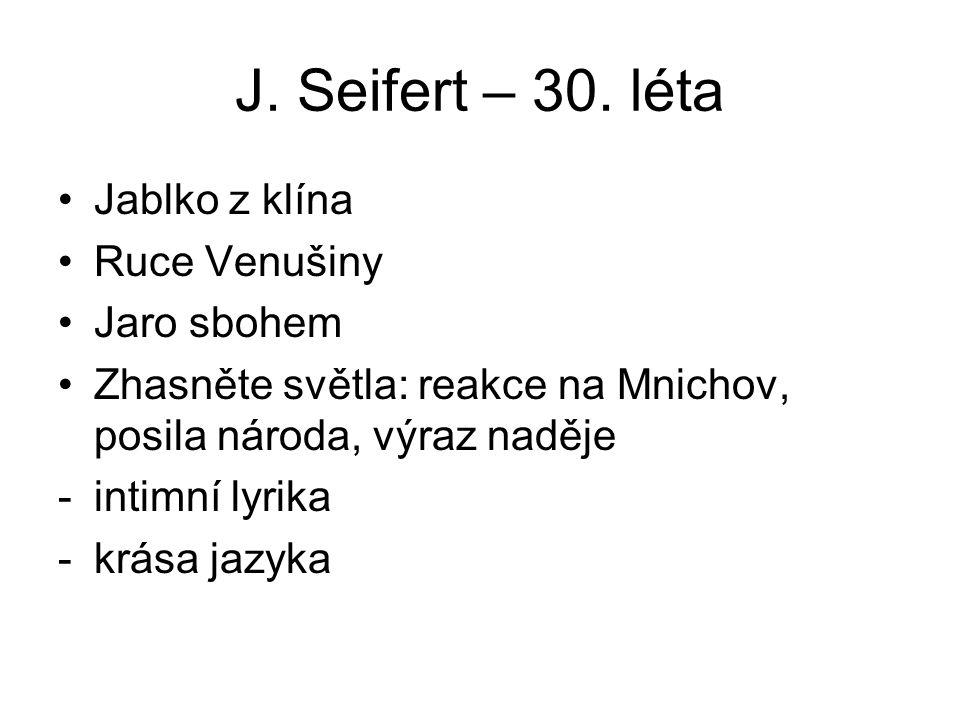 J.Seifert – 30.