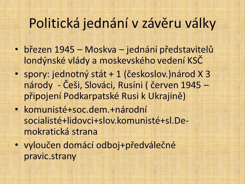 Období stalinismu 1948-1953 rozvrat venkova – násilná kolektivizace – vznik JZD (Jednotná zemědělská družstva) – společná půda, stroje, práce odpůrci – tzv.