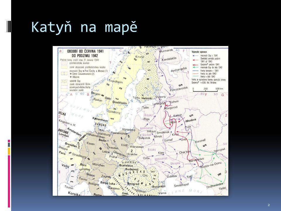 Katyň na mapě 2