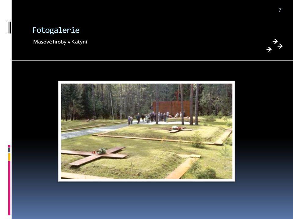 Fotogalerie Masové hroby v Katyni 7