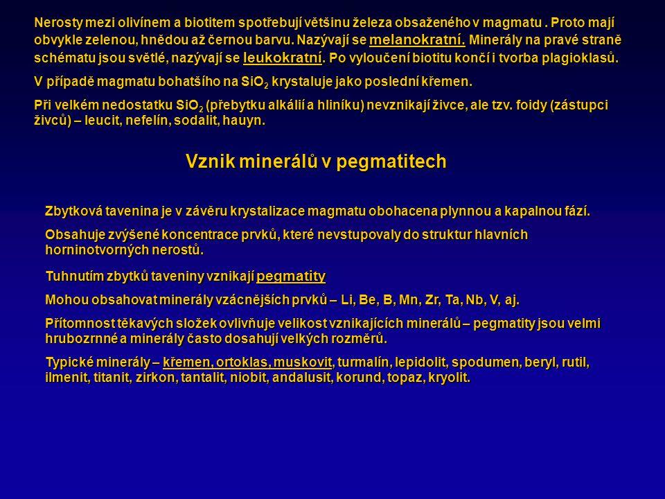 Klasifikace magmatických hornin