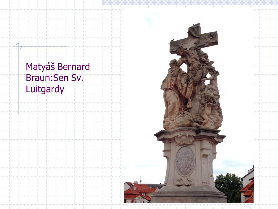 Matyáš Bernard Braun:Sen Sv. Luitgardy