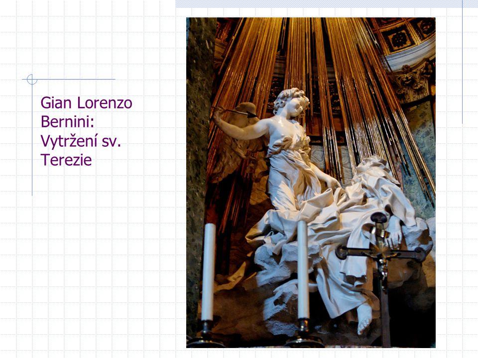 Gian Lorenzo Bernini: Vytržení sv. Terezie